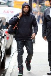 kanye west,menswear,mens shoes,mens hoodie,high top sneakers,shoes