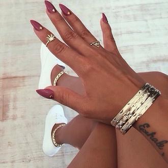 jewels nail accessories nails nail polish style fashion