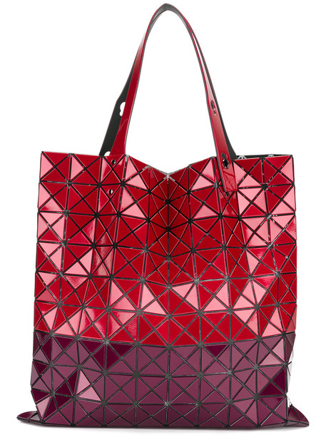 BAO BAO ISSEY MIYAKE women red bag