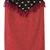 Red and White Polka Dot Pencil Skirt