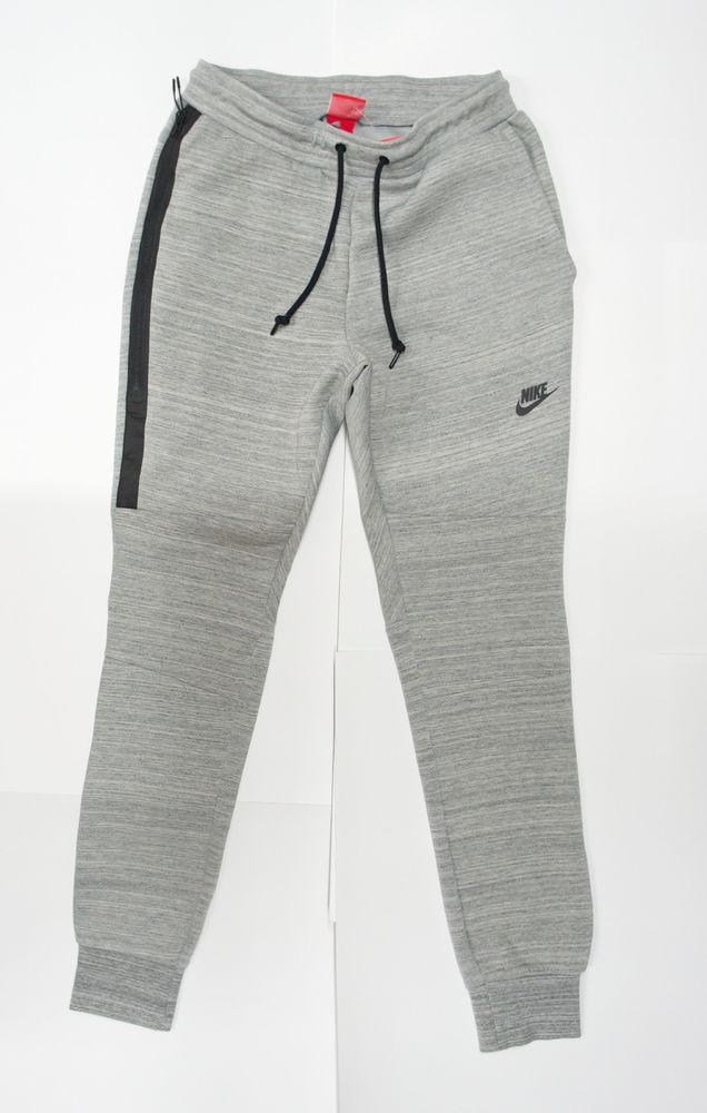 Nike Tech Fleece Pant Men Sweat Cuffed Grey Limited QS 585204-063 Free Shipping