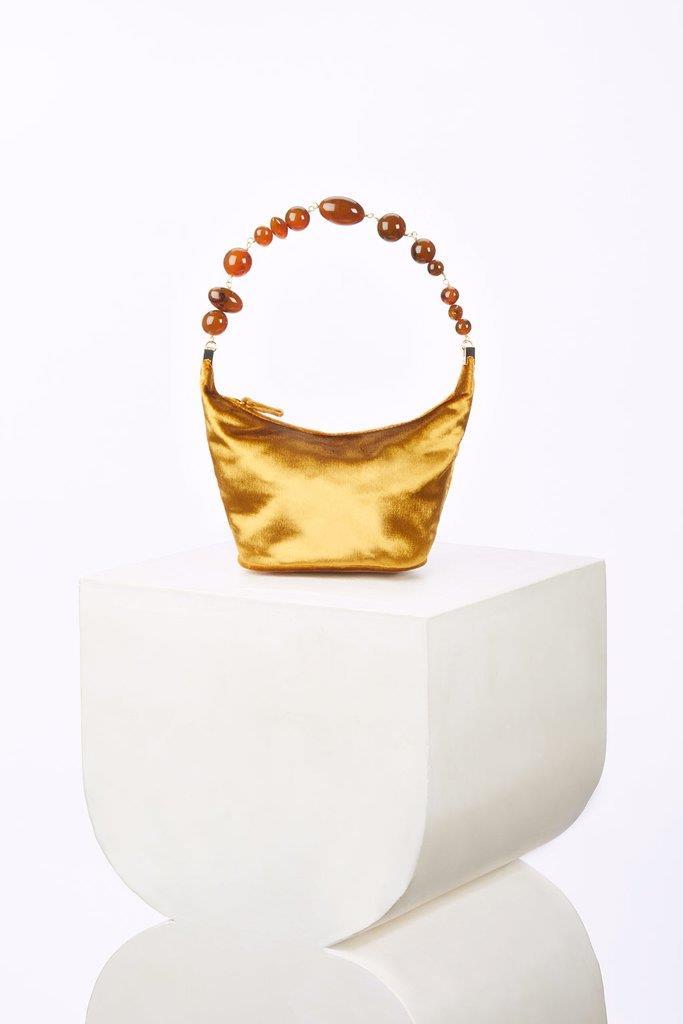 Gia Bag - Gold Velvet (PREORDER)