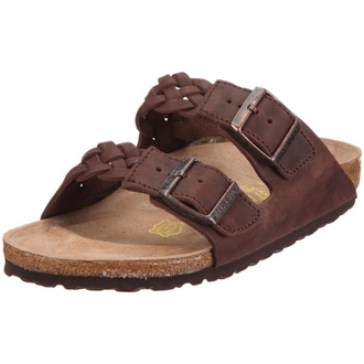 shoes birkenstocks braided sandals two straps