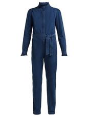 jumpsuit,cotton,blue