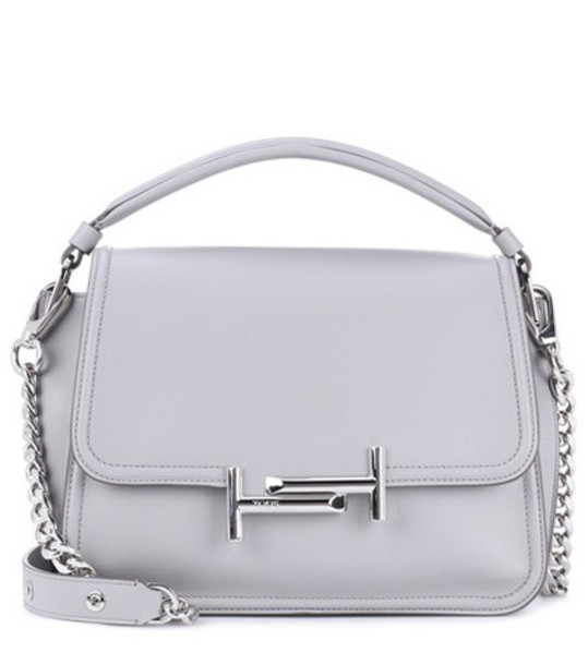 TOD'S bag crossbody bag leather grey
