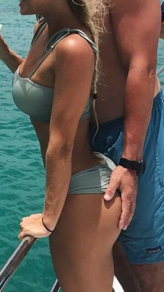 swimwear bikini bikini top bikini bottoms sexy bikini top bottoms beach shoulder ties shoulder tie top swimwear two piece bandeau bikini