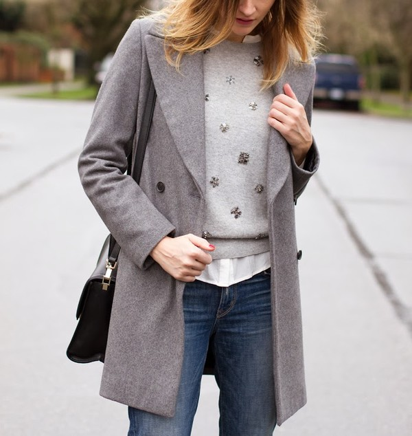 styling my life sweater coat jeans shoes bag