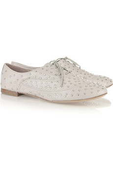 Discount belle sigerson morrison studded leather brogues