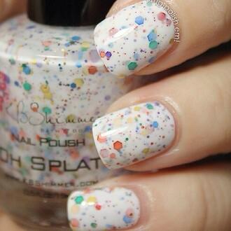 nail polish nail art etsy nails bright colored nail polish