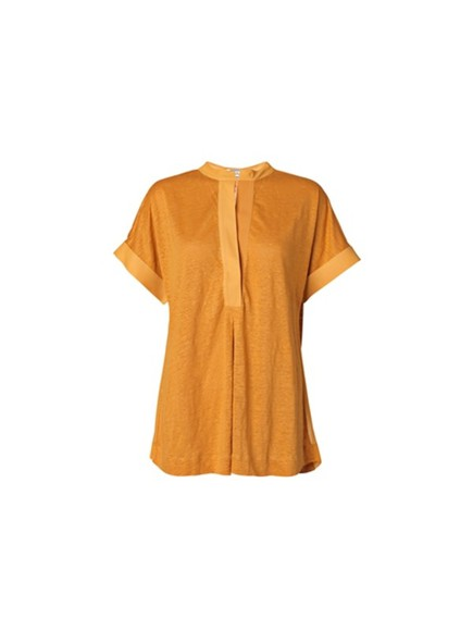 orange shirt kinja top top orange top
