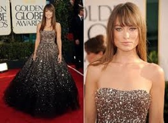 dress gown olivia wilde prom dress prom celebrity style red carpet beautiful