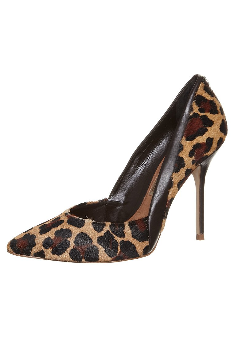 buffalo high heel pumps leopard braun. Black Bedroom Furniture Sets. Home Design Ideas