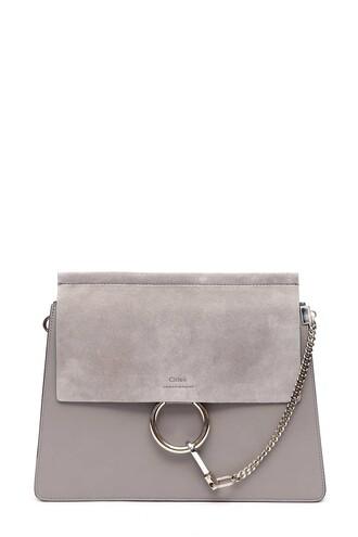 bag shoulder bag grey