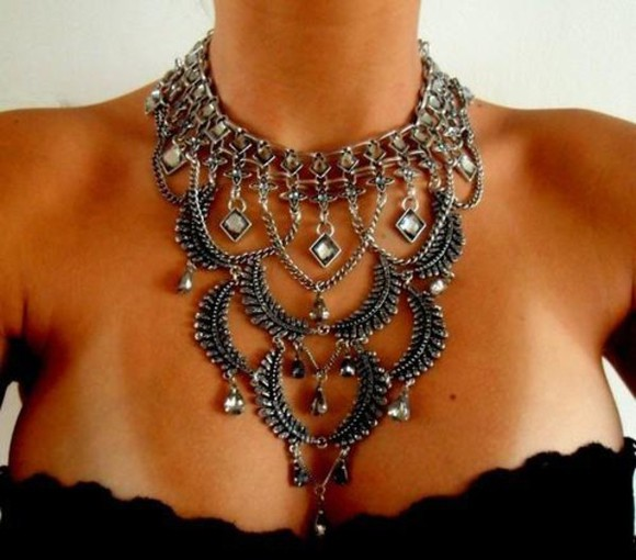 triangle triangle necklace jewels oversized gems boho diamonds oversized necklace drop necklace prom necklace fashion accessories accessories statement necklace