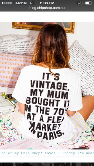 t-shirt vintage quote on it this old thing tshirt
