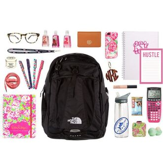 bag backpack school supplies notebook black bag calculator back to school north face desk school bag stationary