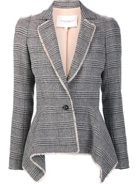 blazer women black silk jacket