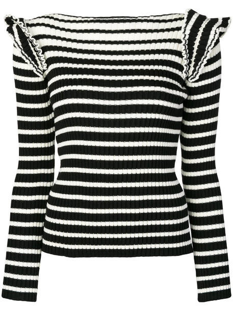 MSGM sweater knitted sweater women black wool