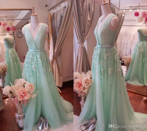 mint dress mint dress prom dress formal dress evening dress party gown 2014 prom dress 2014 formal dress 2015 party dress 2015 evening dresses