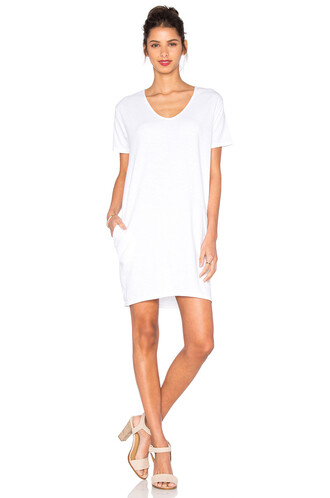 dress shirt dress t-shirt dress white