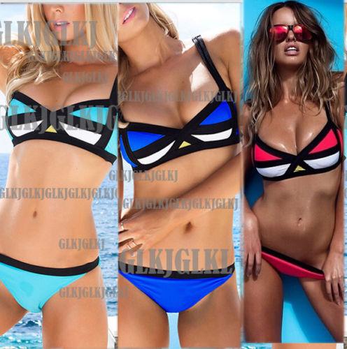 Women's Bandage Bikini Set Push up Padded Bra Swimsuit Bathing Suit Swimwear q6-in Bikinis Set from Apparel & Accessories on Aliexpress.com | Alibaba Group