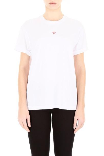Stella McCartney t-shirt shirt t-shirt embroidered white top