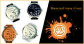 jewels,watch,orange,black,white,whatever,whatever i'm late anyway,whatever i'm late anyway watch,whatever colour,ziz watch,ziziztime,black n white