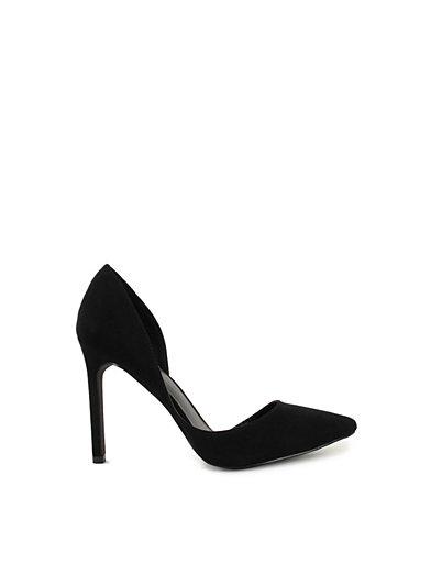 Basic Pump - Nly Shoes - Svart Mocka - Festskor - Skor - Kvinna - Nelly.com