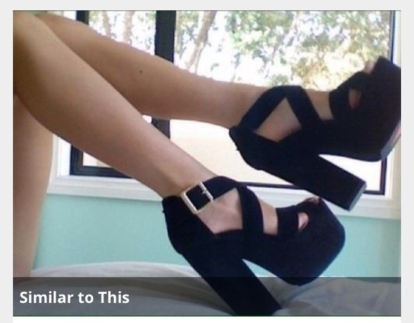 shoes black black high heels