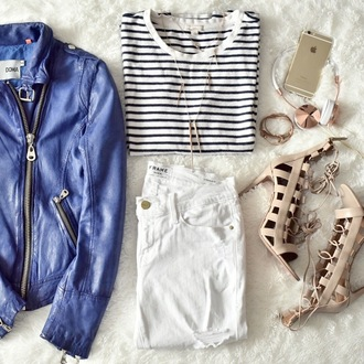 mind body swag blogger jacket jeans top shoes jewels
