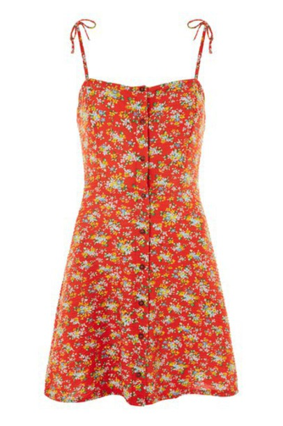 Topshop dress slip dress mini