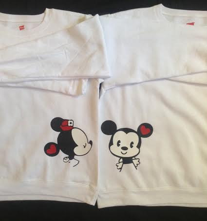 Free Shipping for US Mr and Mrs Mickey and Minnie by DsWishingWell