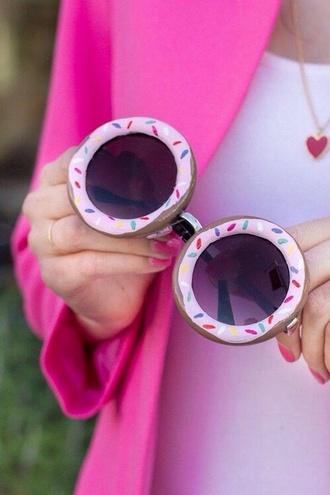 sunglasses doughnut shades round sunglasses round glasses donut