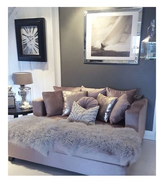 home accessory grey sofa home furniture