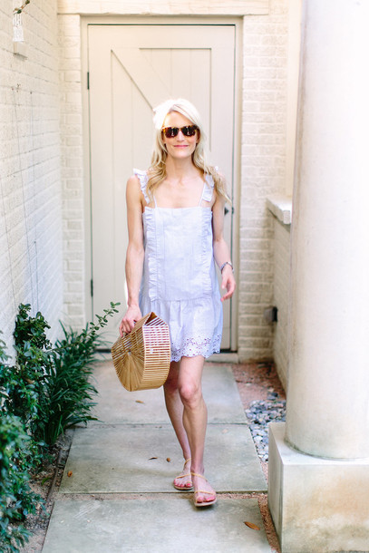 luella & june blogger sunglasses dress bag shoes