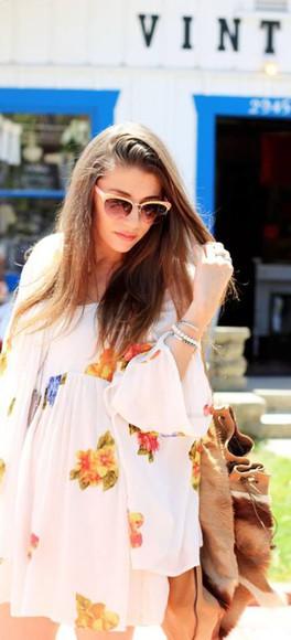 california summer outfits beach dress floral