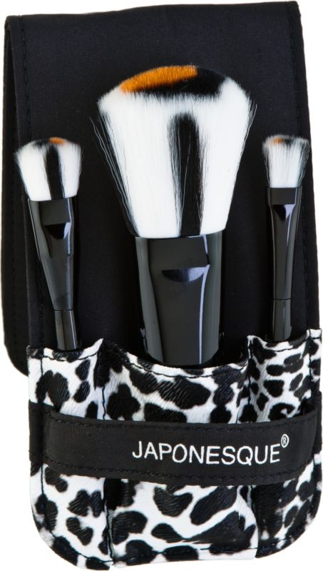 Japonesque Safari Chic Mini Brush Set Ulta.com - Cosmetics, Fragrance, Salon and Beauty Gifts