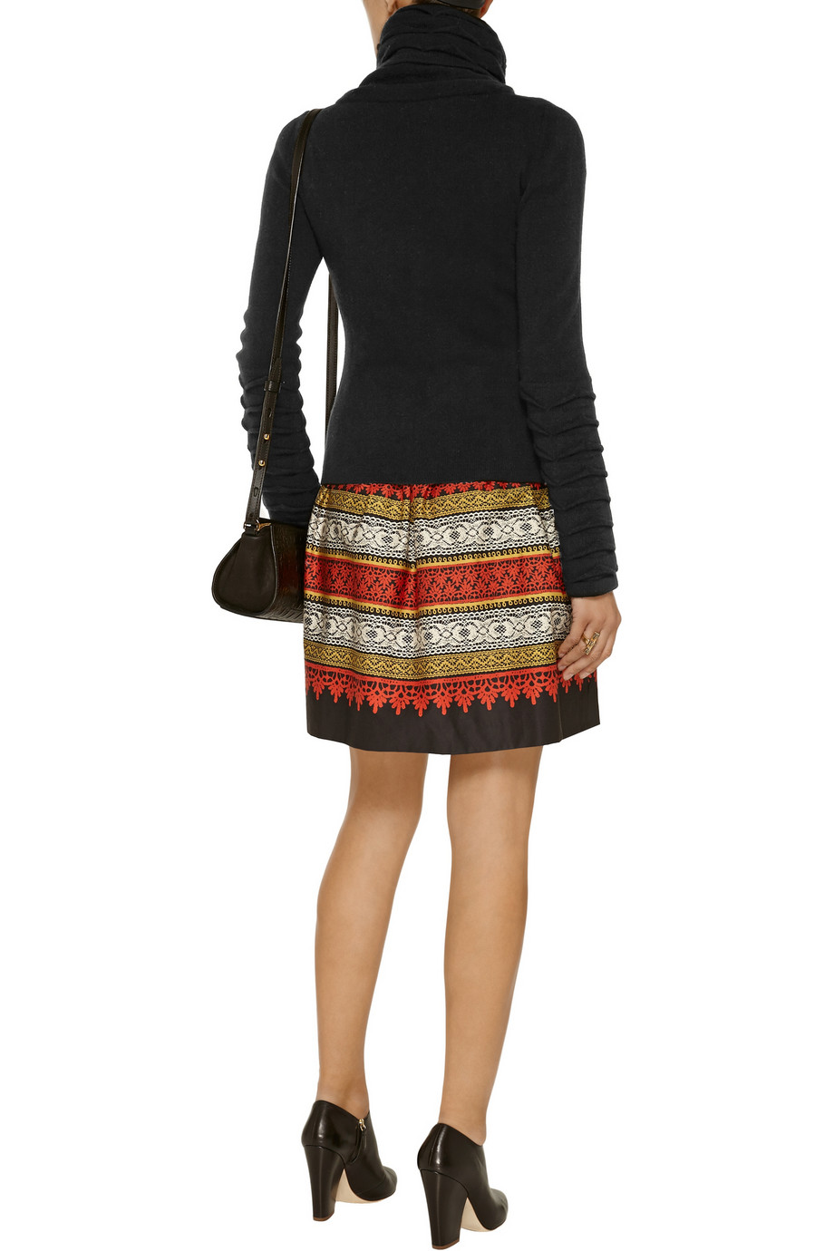Temperley london textured wool turtleneck sweater – 0% at the outnet.com