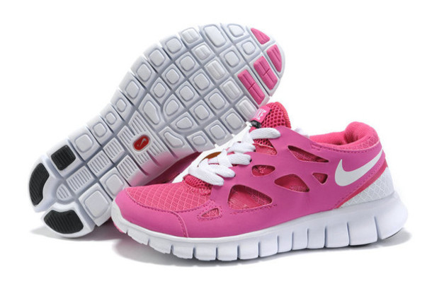 official photos d4de8 08532 shoes nike free run 2 womens pink united kingdom white