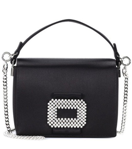 Roger Vivier bag shoulder bag satin black