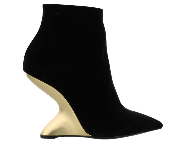Salvatore Ferragamo boot black shoes