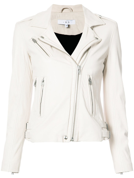 Iro jacket women leather nude