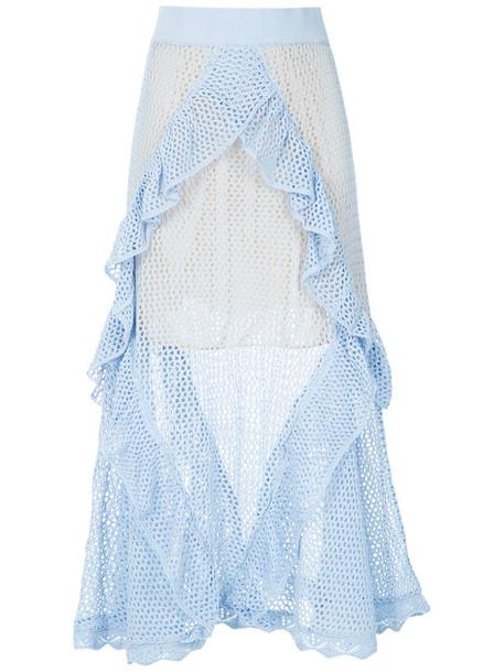 Cecilia Prado skirt maxi skirt maxi women blue