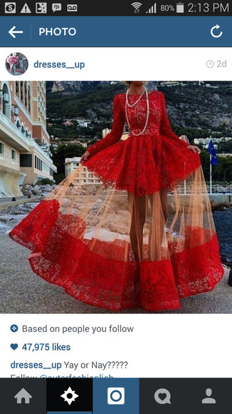 red dress party dress wedding dress sexy prom dresses