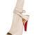 Christian Louboutin Hippik Leather Peep-Toe Cutout Booties