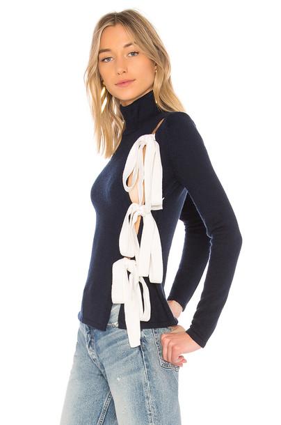 LPA sweater navy
