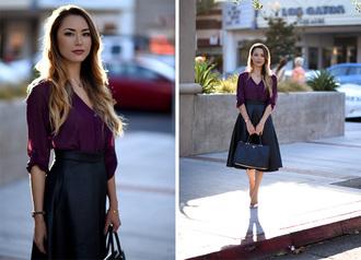 hapa time blogger top skirt shoes bag