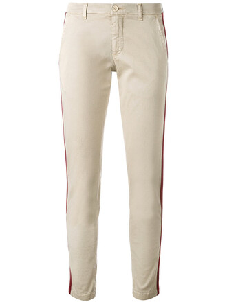 women spandex nude cotton red pants