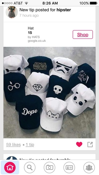 hat harry potter dope panda diamonds