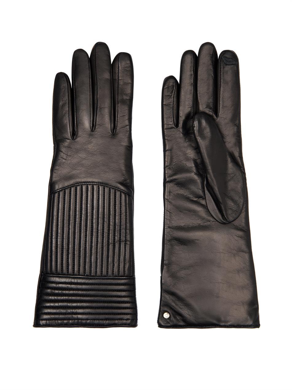 Rail quilted leather gloves | Diane Von Furstenberg | MATCHESF...